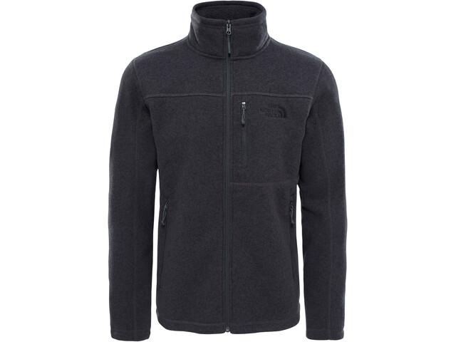 966120777 The North Face Gordon Lyons Full-Zip Fleece Jacket Men tnf dark grey heather